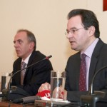 Press conference by Finance Minister Mr. George Papakonstantinou at the FPA